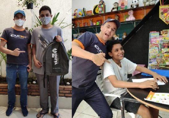 Luiz Henrique foi contratado como monitor, após ser descoberto por Fábio Carmo na Ocupação Mauá - Fotos: Educ360