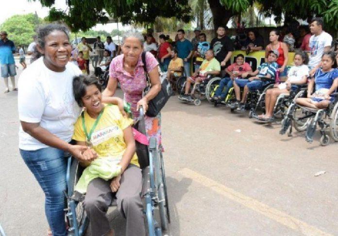 Crianças com deficiências atendidas pela Associação Grupo de Mães Anjos de Luz, em RR - Foto: divulgação