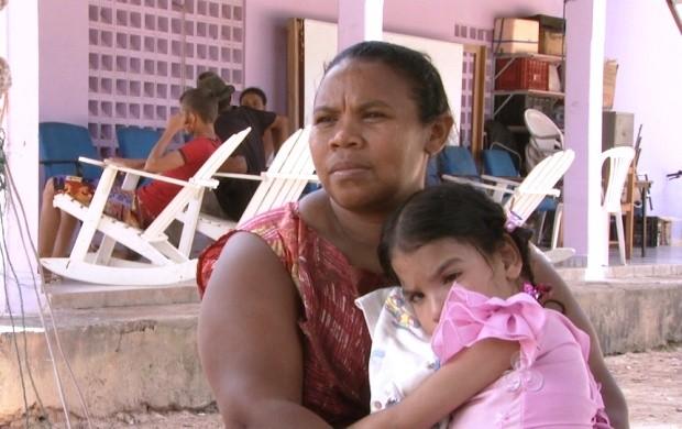 Mãe e filha atendidas pela a associação - Foto: divulgação