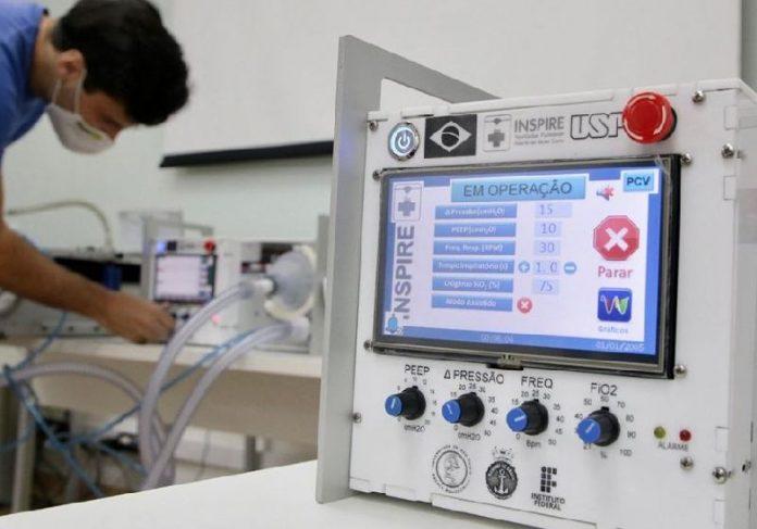 Respiradores da USP estão salvando vidas em hospitais brasileiros - Foto: divulgação