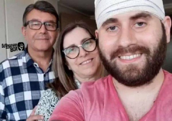 Diego e família - Foto: arquivo pessoal