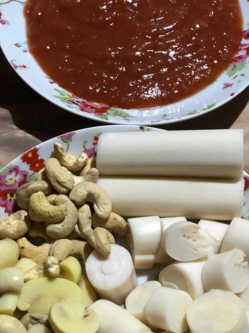Ingredientes do prato - Foto: Patrícia Varela