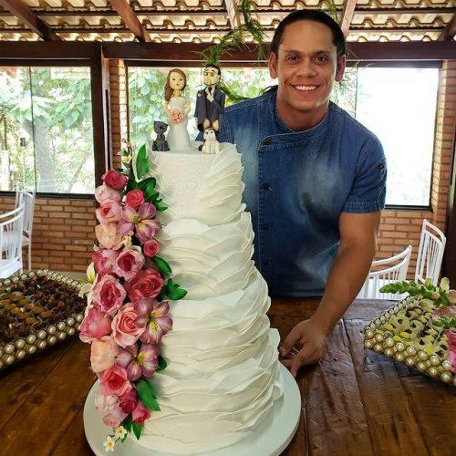 Um dos bolos do Jonathas - Foto: arquivo pessoal
