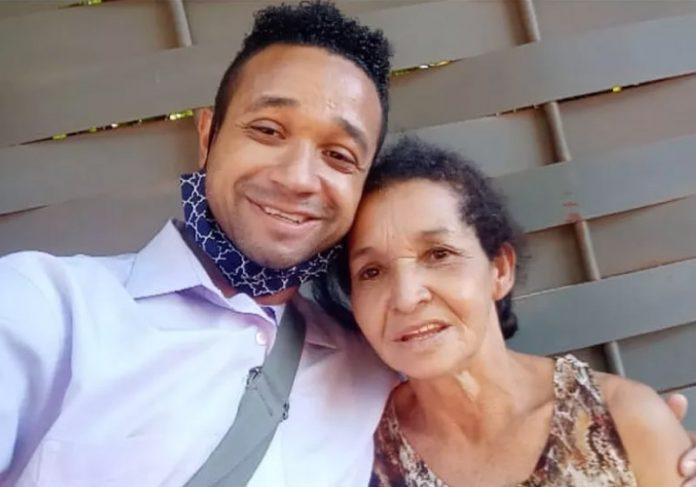 Bombeiro encontra a mãe após 8 anos de busca - Foto: arquivo pessoal
