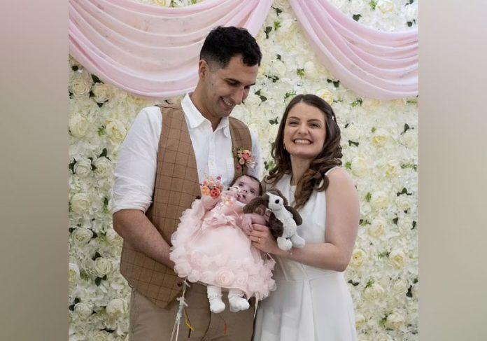 Pais organizam festa de casamento no hospital onde a fica está internada - Foto: reprodução
