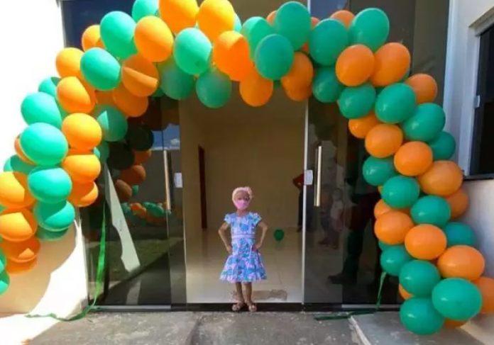 Clarinha ganhou uma casa toda adaptada na MRV - Foto: reprodução MRV