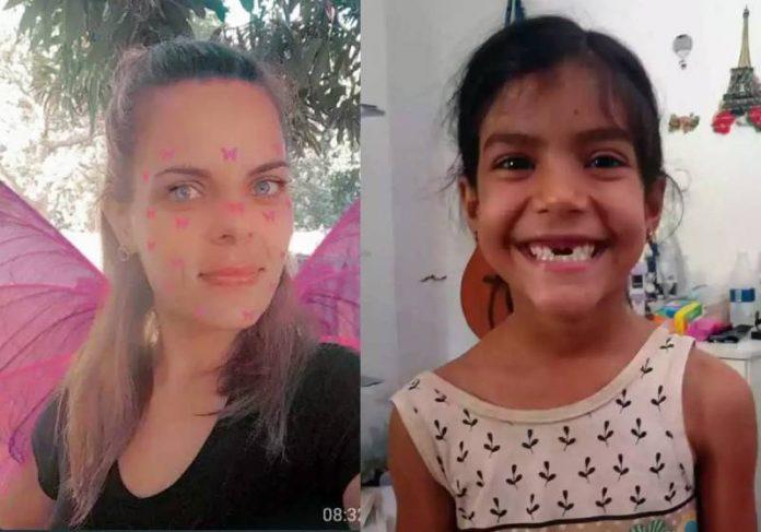 Jaqueline usou um filtro, virou fada do dente, mandou uma foto e um áudio para a Ana Luisa - fotos: reprodução