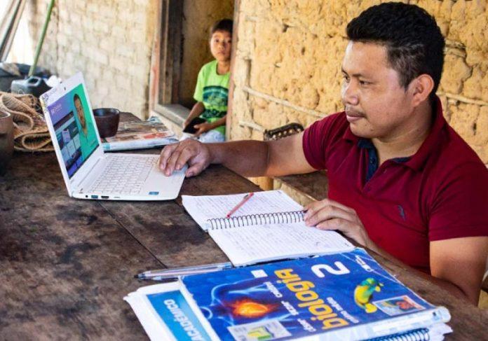 Indígena Hugo é aprovado em Medicina - Foto: reprodução