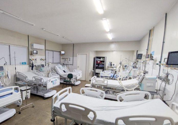 O hospital municipal de Maranguape (CE), zerou leitos com pacientes internados por covid-19 - Foto: Paulo Sérgio/Prefeitura de Maranguape