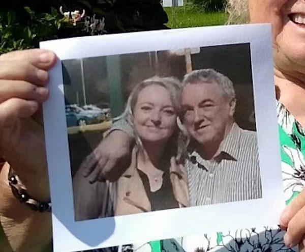 George com a filha, Kym - Foto: arquivo pessoal