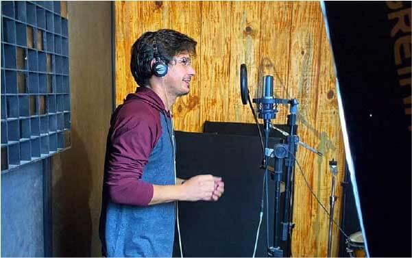 Hoverson gravou música para profissionais de hospital - Foto: arquivo pessoal