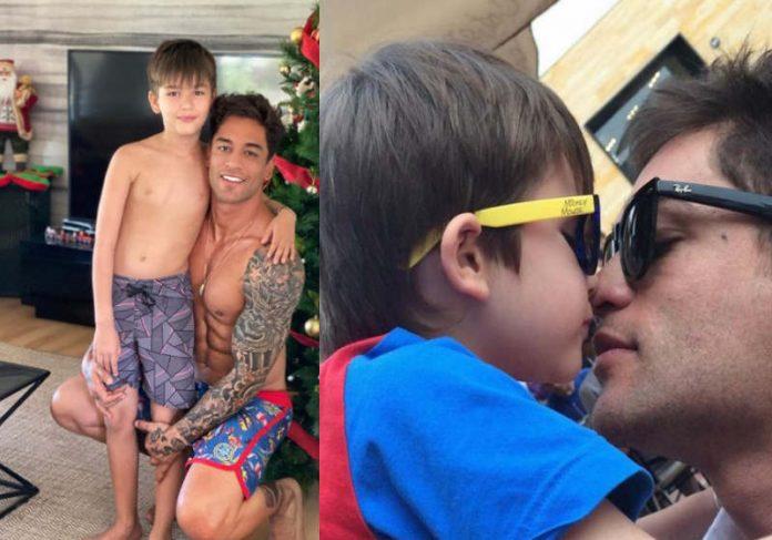 O brasileiro e dançarino Thiago Cunha assumiu a custódia do filho de 12 anos - Foto: Arquivo Pessoal