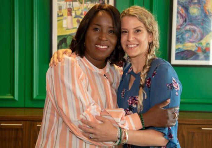 Tia e Susan são amigas há 10 anos. Elas descobriram que podiam salvar o marido, uma da outra. - Foto: arquivo pessoal