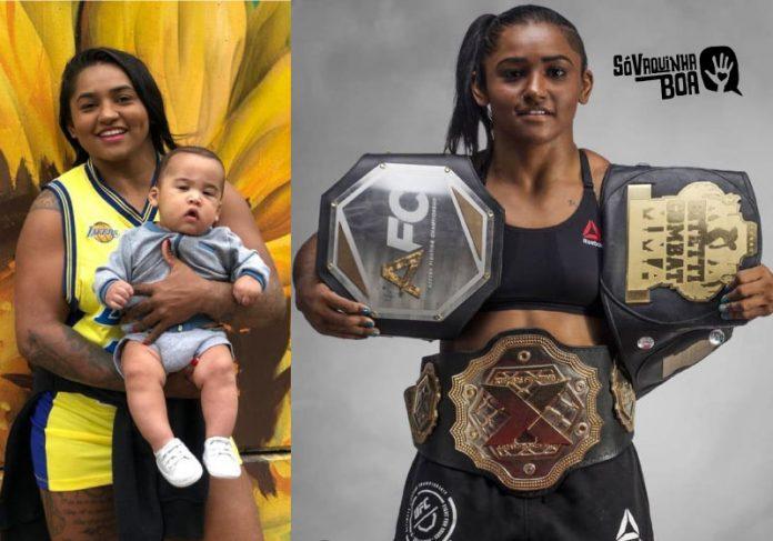 Viviane Sucuri perdeu patrocínio e sonha em voltar para as lutas - Foto: arquivo pessoal