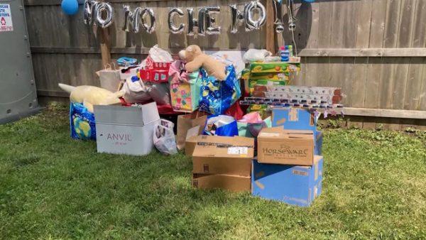 Brinquedos doados ao hospital - Foto: reprodução