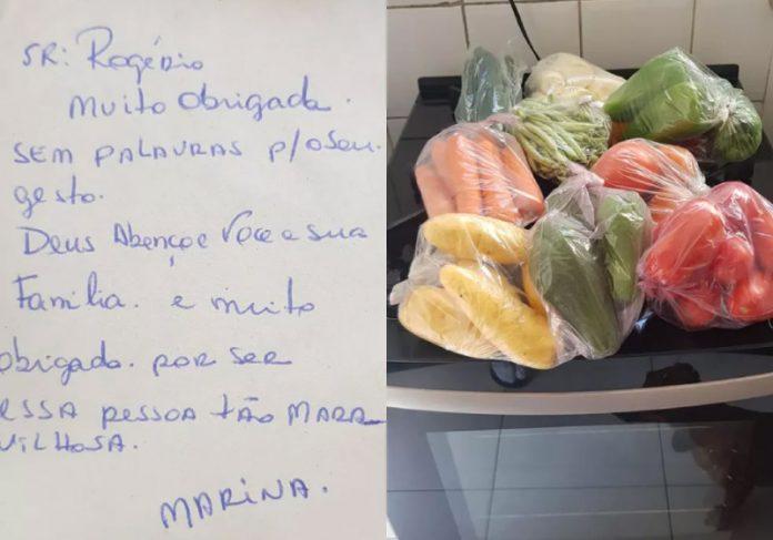 Empresário devolveu celular achado na praia e ganhou alimentos como agradecimento - Foto: arquivo pessoal