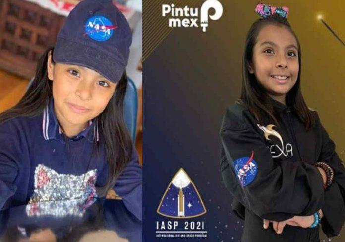 Adhara vai participar do curso de astronautas da NASA e atualmente faz duas faculdades Foto: Arquivo Pessoal