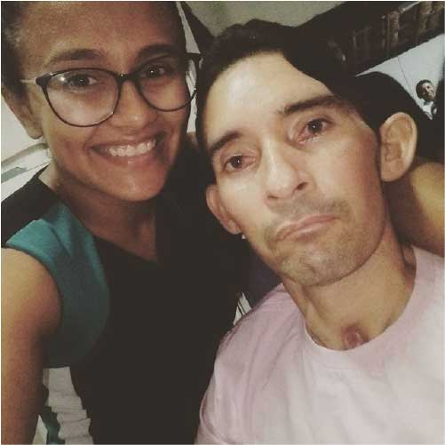 Werneson e a esposa Dávilla - Foto: arquivo pessoal