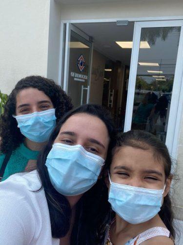 Dra. Julia, Dra. Ana e Laís - Foto: Oftalmocasa