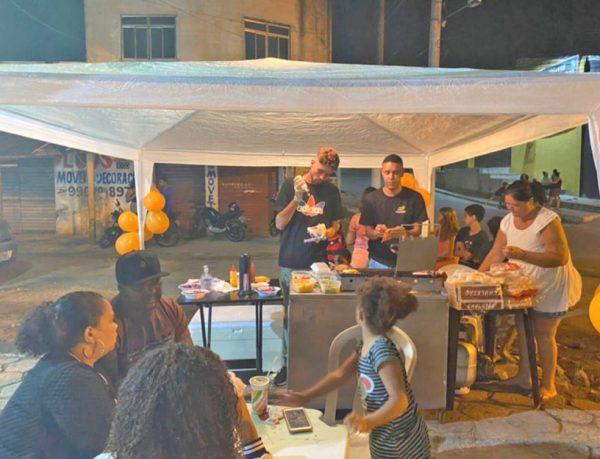 A nova barraca de lanches do Dorico - Foto: reprodução / TV Globo