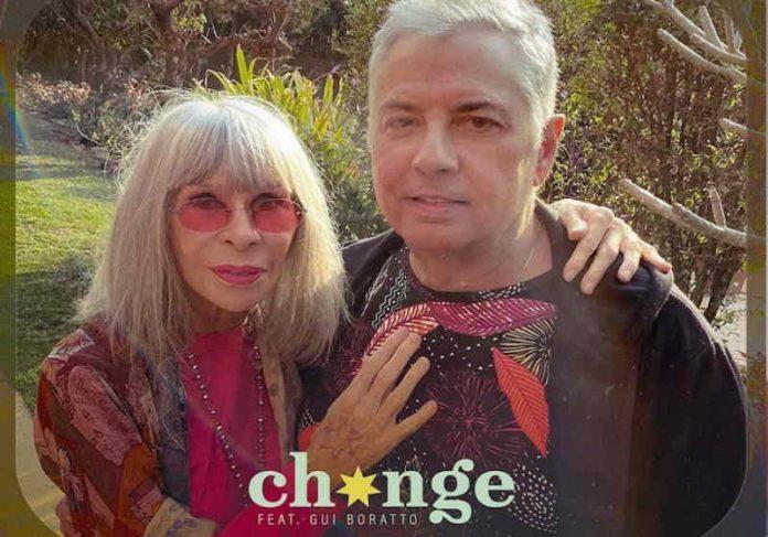 """Capa de """"Change"""", de Rita Lee e Roberto de Carvalho (feat. Gui Borato) Foto: Divulgação"""