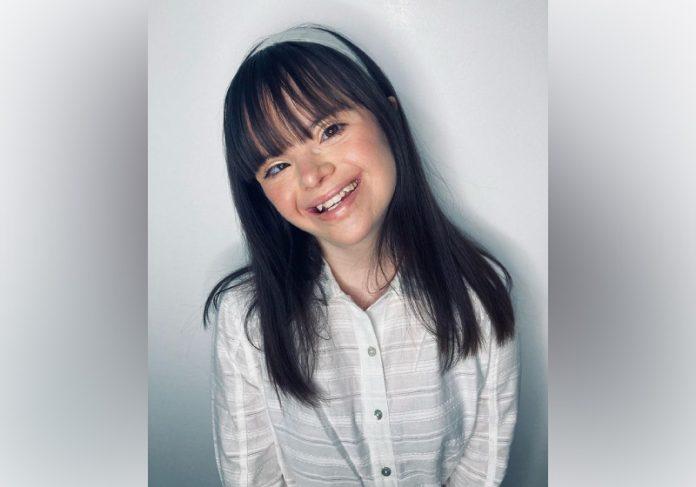 Vitória fez campanha para mudar o significado de Síndrome de Down, que era categorizada como doença no Google - Foto: reprodução