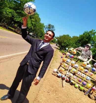 Luis se formou em 3 faculdades Fotos: Arquivo Pessoal