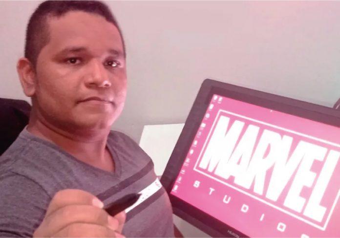 O colorista brasileiro Dijjo Lima, que já deu cores a quadrinhos de produtoras como Lego e Titan Comics, agora assinará coleção da Marvel - Foto: arquivo pessoal