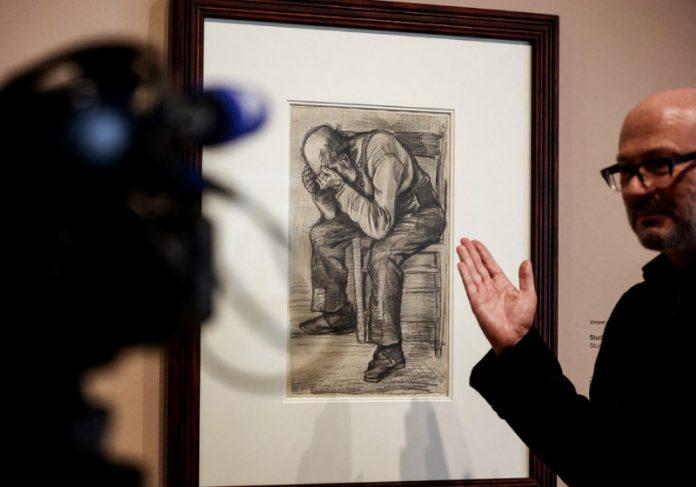 Quadro inédito de Van Gogh entra para exposição após 100 anos - Foto: AFP