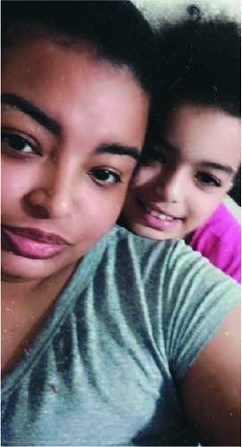 Aline e a filha Luany - Foto: arquivo pessoal
