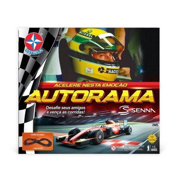 O novo Autorama em homenagem a Ayrton Senna - Foto: divulgação