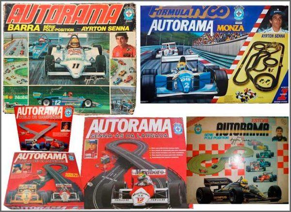Autoramas antigos com a marca Senna - Foto: divulgação