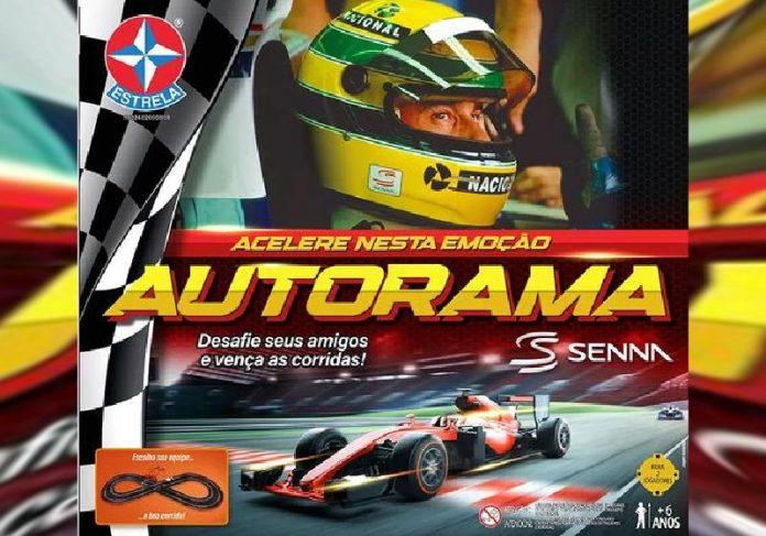 A Estrela lança Autorama em homenagem ao piloto brasileiro Ayrton Senna - Foto: divulgação