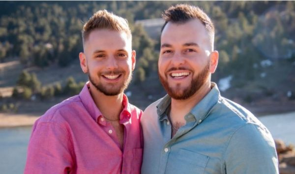 Reid e Rafael se conheceram no Tinder - Foto: arquivo pessoal