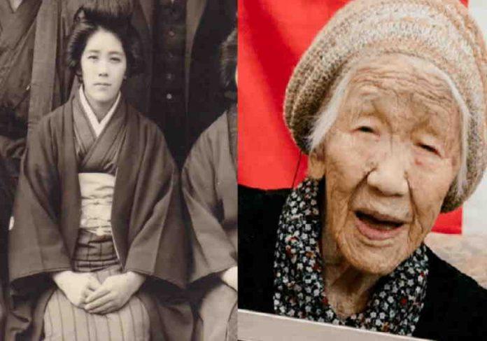 A pessoa mais velha no mundo é a japonesa Kane Tanaka, com 118 anos que entrou para o Guinness Foto: reprodução