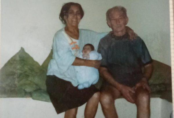 Margarete e os pais adotivos - Foto: arquivo pessoal