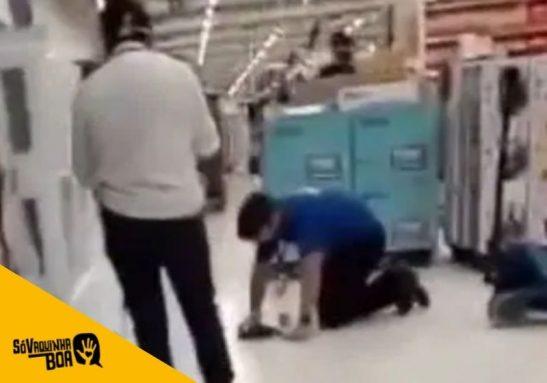 Pedro, o vendedor do Carrefour humilhado pela gerente, ganha apoio e vaquinha - Foto: reprodução / redes sociais