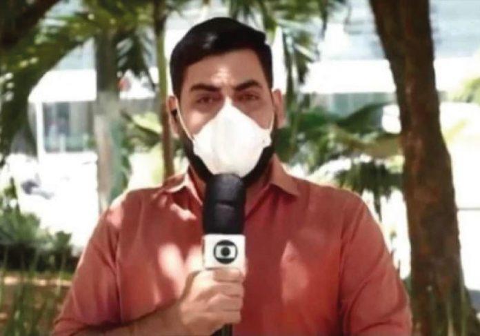 Repórter não segurou as lágrimas ao noticiar ausência de mortes em hospital da cidade - Foto: reprodução