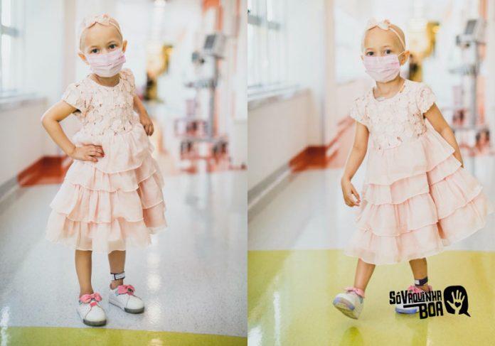 Juju tem um câncer raro e vaquinha vai ajudar no tratamento - Fotos: arquivo pessoal