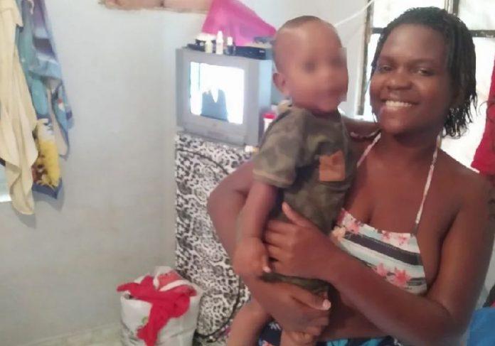 Paloma foi detida por furtar carne em supermercado e campanha arrecadou R$ 45 mil para ela - Foto: reprodução