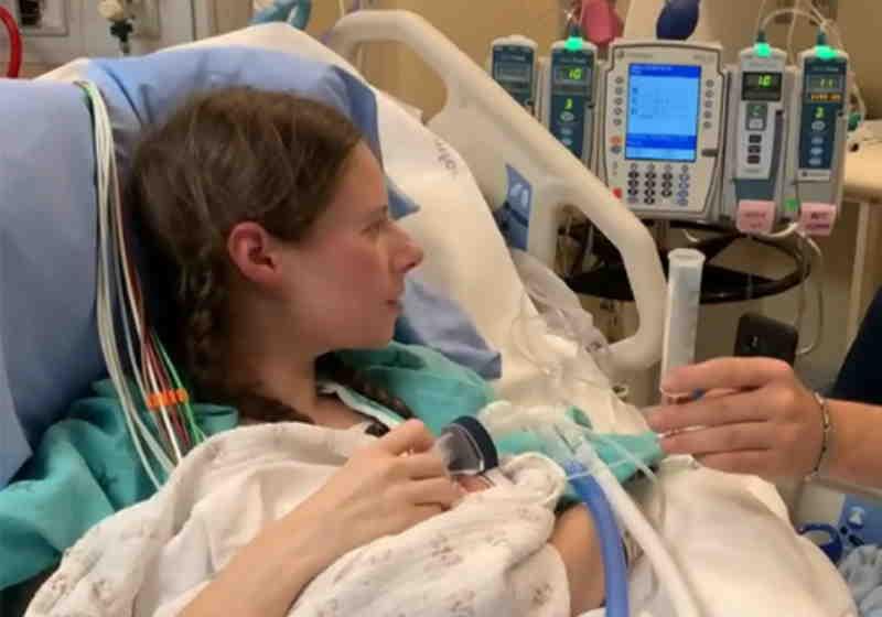 Os médicos do Hospital Geral de Toronto decidiram tentar encontrar uma maneira de manter a mãe e a criança vivas Foto: CTVNews