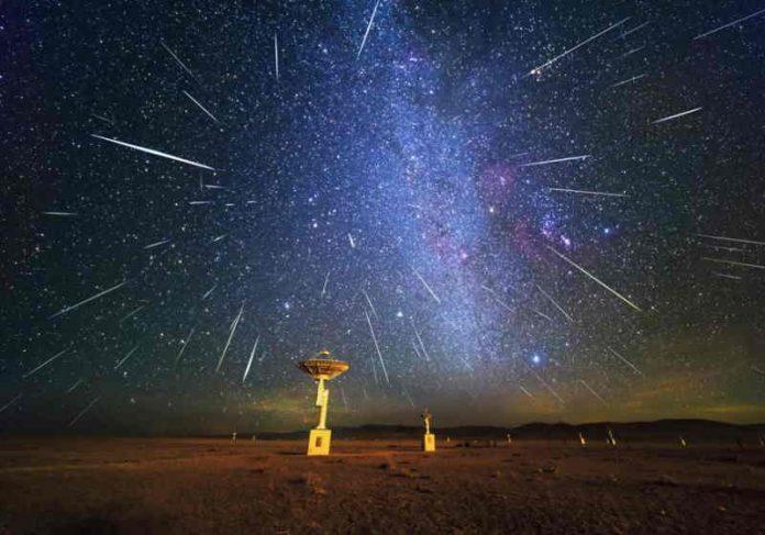 Outubro reserva duas chuvas de meteoros e uma conjunção de planetas Foto: reprodução