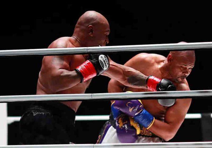 Mike Tyson voltou aos ringues contra Roy Jones Jr. em 2020 e quer desafiar antigo rival Foto: reprodução