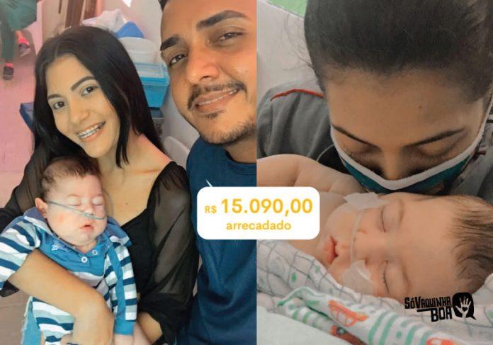 Vaquinha arrecada R4 15 mil e ajudará família a construir quarto adaptado para o bebê - Foto: arquivo pessoal